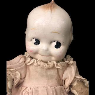 "Rare Kewpie Rose O'Neill Doll 12"""