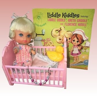 Liddle Kiddles Liddle Diddle Baby 1960's