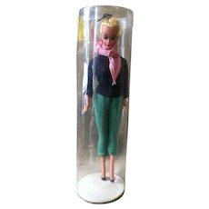 "Amazing 7.5"" Bild Lilli Doll Unused Mint in Tube w/stand"