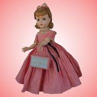 Madame Alexander Hard Plastic Little Women Amy Doll All Original