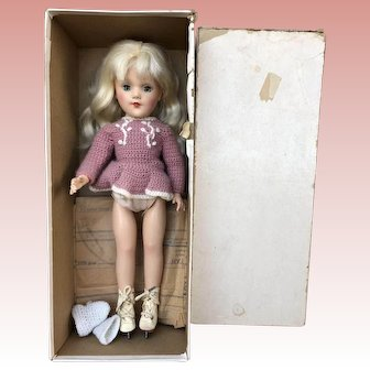 Mary Hoyer hard plastic doll in Box 1950's