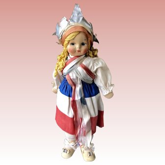 Georgene Miss Liberty Doll