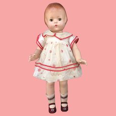 """Effanbee Composition Patsy Lou 22"""" Doll Original Tagged"""