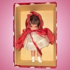 Nancy Ann Storybook molded sock Red Riding Hood