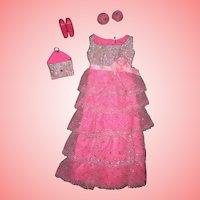 Vintage Mod Barbie Romantic Ruffles Mint Complete!