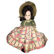 "Madame Alexander 10"" Scarlett O'Hara doll All Original"