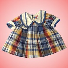 Ideal 1930's tagged Shirley Temple Doll Dress