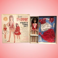 """1960's Skipper Gift Set """"Party Time Set"""" Mint in Box #1021"""