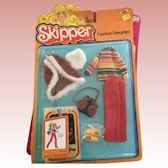 Vintage Barbie Skipper doll Winter Warmth Outfit MIP 1978