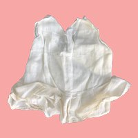 """11"""" vintage Doll slip with attached panties"""