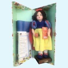 "Lenci Snow White Doll Mint In Box 13"""