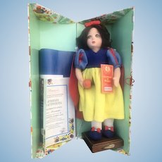 Lenci Snow White Doll Mint In Box 13""
