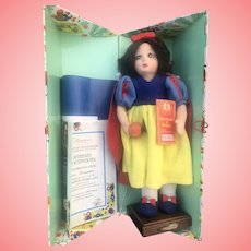 Lenci Snow White Doll Mint In Box