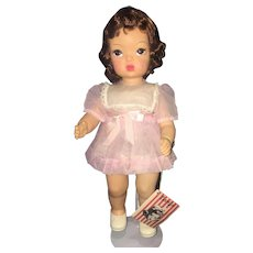 Beautiful Mint Terri Lee Doll All Original With Wrist Tag