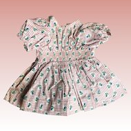 Terri Lee 1950's  tagged dress smocked