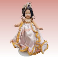 Madame Alexander Tiny Betty Carmen Miranda composition doll