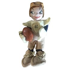 Tiny town football player doll
