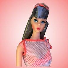 Beautiful Twist 'N Turn Barbie Doll 1960's