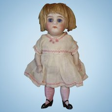 """Adorable 6"""" All Bisque Antique Doll"""