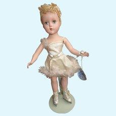 R & B Nancy Lee Doll 1950's All Original with Hang Tag Skater