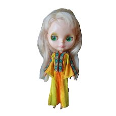 1972 Kenner Blythe Doll Eyes Work Original Dress