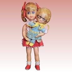 1960's Mattel Buffy and Mrs. Beasley Dolls Family Affair TV Show