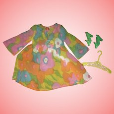Vintage Barbie Flower Wower Mint Complete Outfit