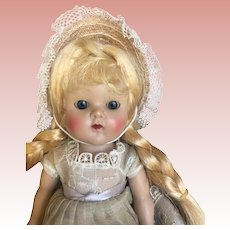 Vogue Strung Ginny Doll in Original Tagged early outfit Nice Coloring