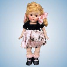 Gorgeous Vogue Strung Transitional Ginny Nan Doll All Original