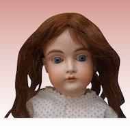 """22"""" Kestner 167 Antique Bisque Doll No Bisque Damage"""