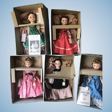 Mint Madame Alexander Little Women Doll Gorgeous with price tags, suitcases