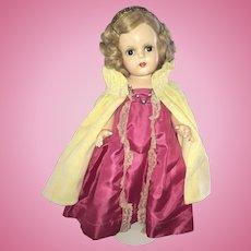 """Madame Alexander 15"""" Princess Elizabeth Gorgeous Doll All Original"""
