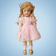 "Madame Alexander McGuffey Ana Composition doll  No Crazing 9.5"""