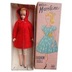 Marx Bild Lilli Clone Doll Miss Marlene Mint in Box!