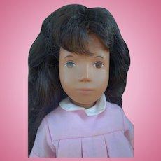 Vintage Sasha Doll Brunette Pink Dress