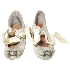 Antique Schoenhut doll Original Shoes