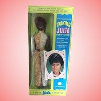 Beautiful Talking Julia 1960's doll by Mattel NRFB Unopened!