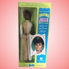 Beautiful Talking Julia 1960's doll by Mattel NRFB Unopened!