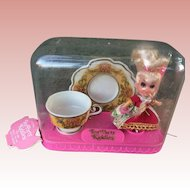 Mattel Liddle Kiddles Lady Crimsom Tea Party NRFB Unopened