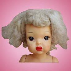 """Platinum Patent Pending Terri Lee 16"""" Doll 1950's"""