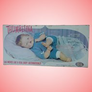 """21"""" Ideal Thumbelina Doll Mint with Box Original Clothes"""