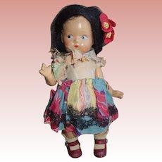 Adorable Vogue Ginny Toddles All Original No Crazing