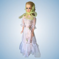Vintage Barbie Truly Scrumptious Doll Original Outfit