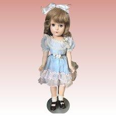 "All Original Madame Alexander 17"" Wendy Ann Near Mint Hard Plastic"
