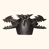Senufo Wanyugo (firespitter) Helmet Mask