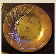 1906 Sterling Silver and Bronze HEINTZ Calling Card Dish