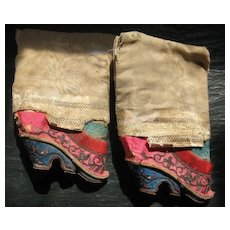 Chinese Lotus Shoes Late 18C/Early 19C
