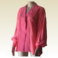 Vintage 80's Gianfranco ferre Silk Blouse
