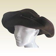 Vintage Gabriela Ligenza Felt Hat