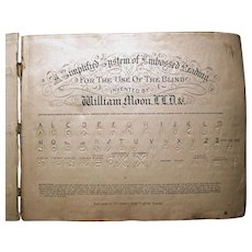 William Moon Braille Book C1850